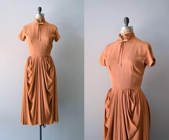 vintage 50s Ceil Chapman dress / 1950s dress