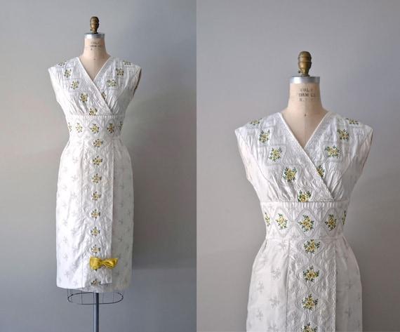 1950s dress / 50s dress / Salon de Soleil dress