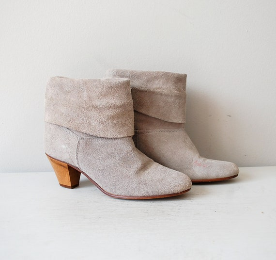 gray boots / grey ankle boots / Gainsboro boot