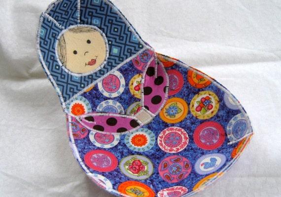 Fabric Bowl , Matryoshka