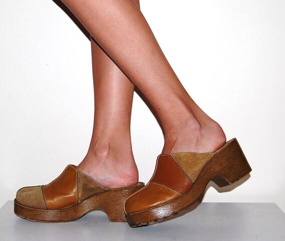 Vintage Patchwork Shoe