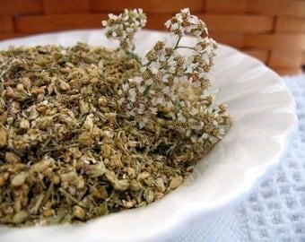 Yarrow Flowers dried herb 1 Pound, bulk dried herb