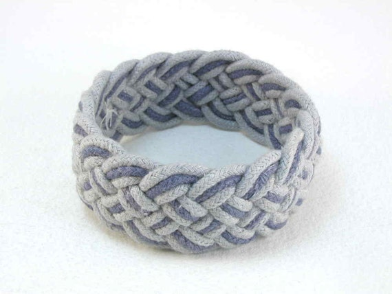 Reserved for Kelli blue and denim turks head bracelet and DIY materials 2186