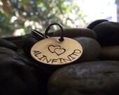 Al Infinito, To Infinity copper Key chain