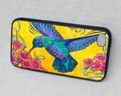 Hummingbird Rubber iPhone case, cover, iPhone 4, iPhone 5, iPhone 5s