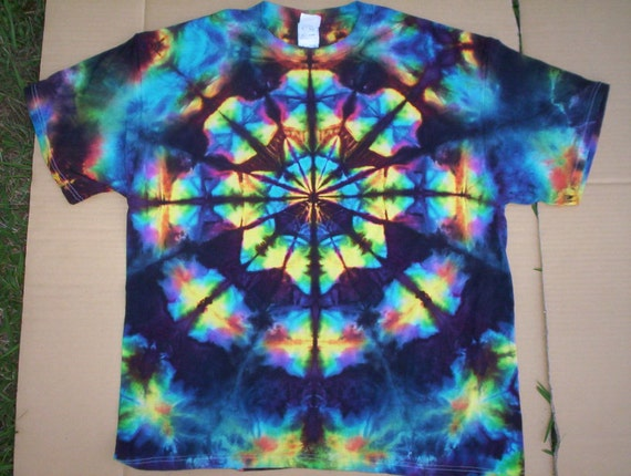 4x tie dye stained glass for Tie dye t shirt patterns