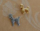 Vintage Poodle Dog Brooch Lot