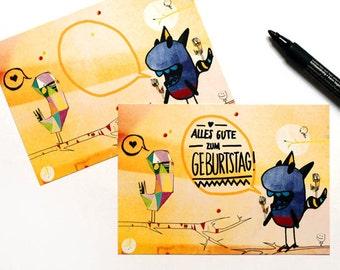 postcards (Set) - 5 pcs