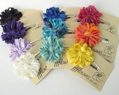 Flower Hair Clips, Party Pack of 10