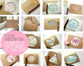 Greeting Card Subscription - 1 Full Year of Greeting Cards