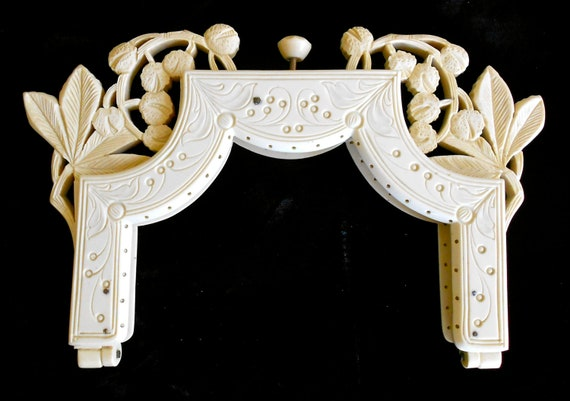 Gorgeous Antique French Celluloid Purse Frame
