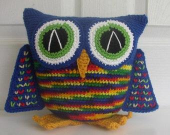 Large Owl Art Doll/Stuffed Animal