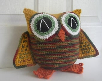 Owl Art Doll/Stuffed Animal