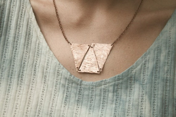 TRI.bal Copper Necklace