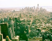 A piece of the big Apple - 8x10 Fine Art Photograph - NYC Decor - architecture