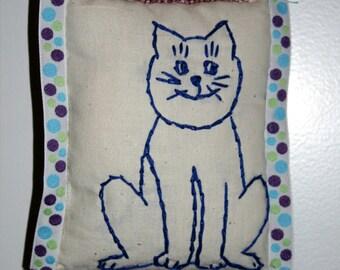 Door Pillow Jingles the Cat