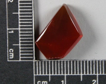 Juniper Ridge Orange Red Oregon Fire Opal Cabochon ORPAL45