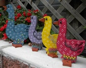 decorative wooden ducks