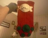 Cat Paw Christmas Stocking