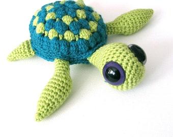 Marty The Sea Turtle - Amigurumi Crochet Pattern