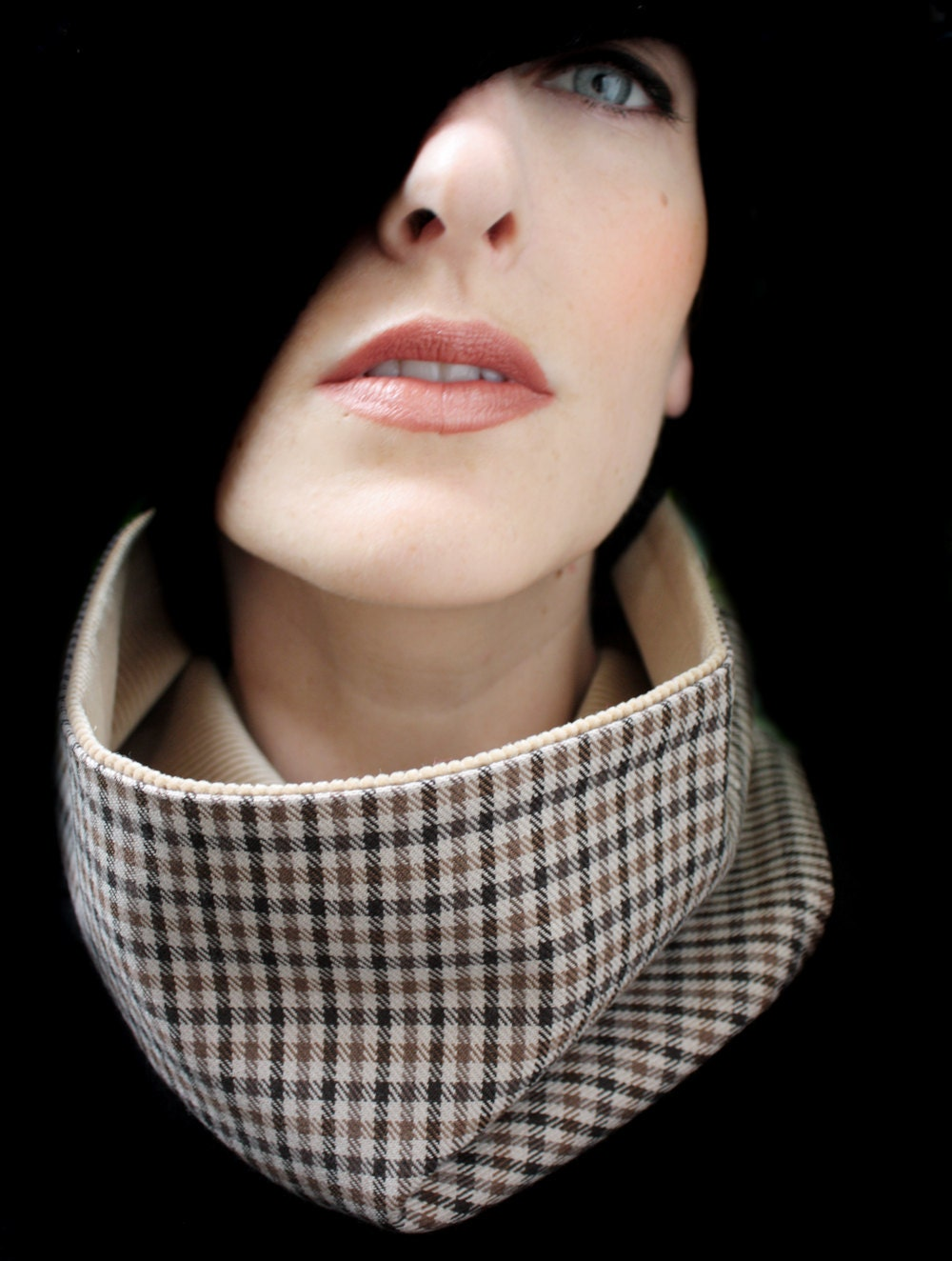 Brown Scarf for Men or Women by piprobins on Etsy Brown Scarves For Women