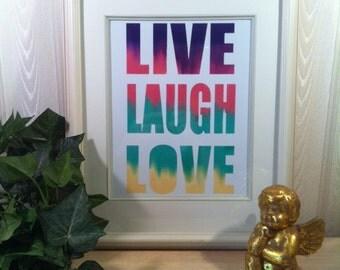Inspiration,Decor Art,print,gift ideas,live laugh love,Inspirational quote print,inspiration,Motivational quote print