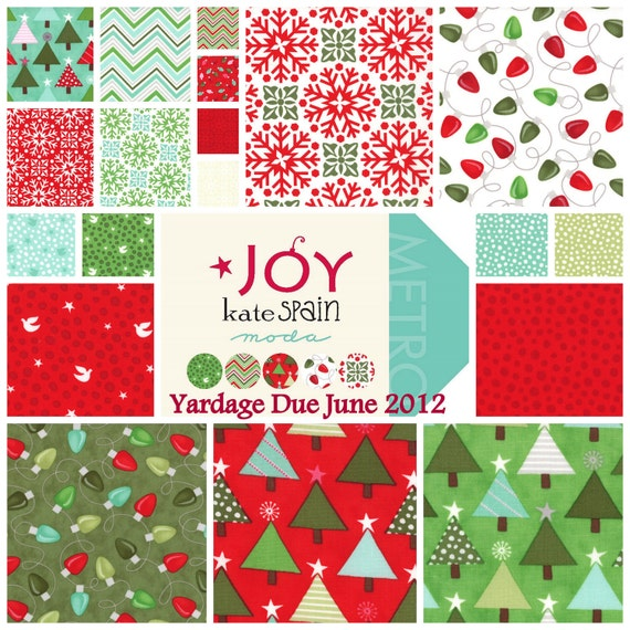 Joy - Fat Quarter Bundle (22) - by Kate Spain for Moda Fabrics