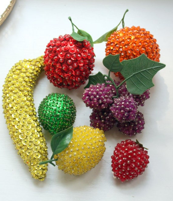 Kitschy Sequin Fruit Starter Collection