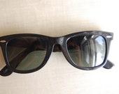 Vintage Black Ray Ban Wayfarer 5022 Sunglasses