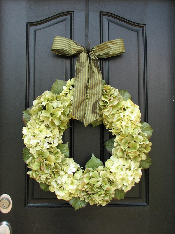 Wedding Decorations Hydrangea Wreath Wreaths Home Decor