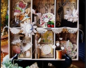 Vintage Shadow Box Class Kit from our Creative Retreat in Italy