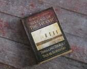 Miniature Book --- Sinking of the Titanic