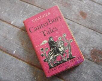 Miniature Canterbury Tales