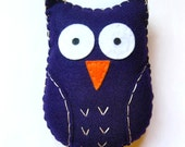 Large Purple Owl -- RESERVED FOR SYVIA