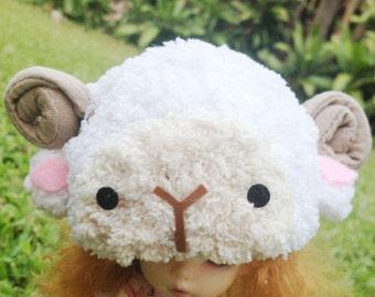 MSD  Little sheep crochet hat