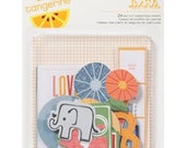 Ready Set Go - Amy Tangerine - Bits Die Cut Cardstock Shapes - American Crafts