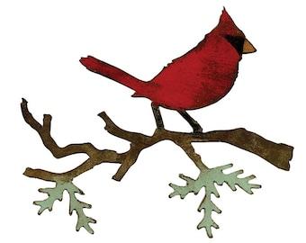 Tim Holtz - Christmas Cardinal - Alterations Sizzix Die