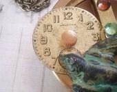 Wheel of Time - Steampunk Necklace, Bird Necklace, Vintage Necklace, Brass Necklace