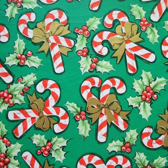 Red And Green Christmas Wrapping Paper