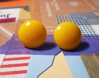 Sweet Earrings - Yellow