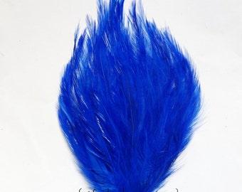 Royal Blue Hackle Pad