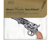 Under Your Pillow - Embroidered Colt-45 Pillowcase