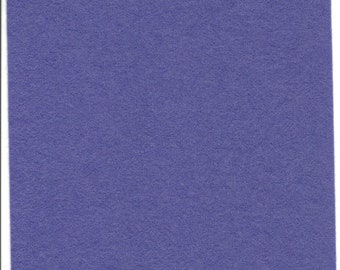 Pure Wool Felt Sheet - Blue Purple - Quarter Metre / Half Metre - EN71