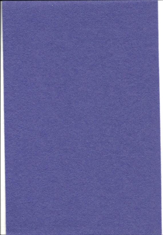 Pure Wool Felt Sheet - Blue Purple - Various Sizes