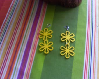 Crazy Daisy.......earrings