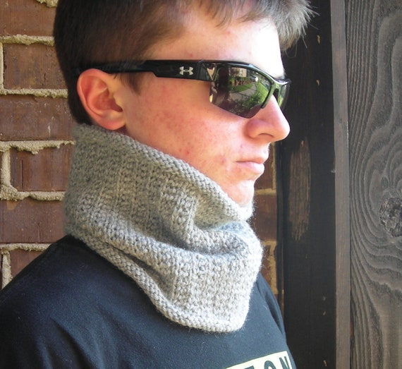 cowl neckwarmer men women -  PDF Knitting Pattern - Wicked Easy Warmer -  Help support the Wounded Warrior Project