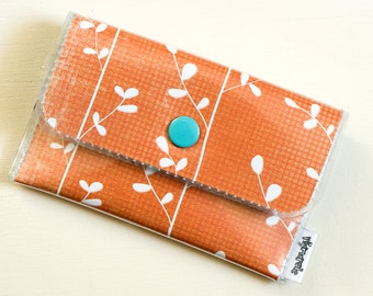 Orange Vines - Vinyl Card Wallet