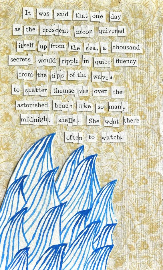 A thousand secrets - chosen words poem