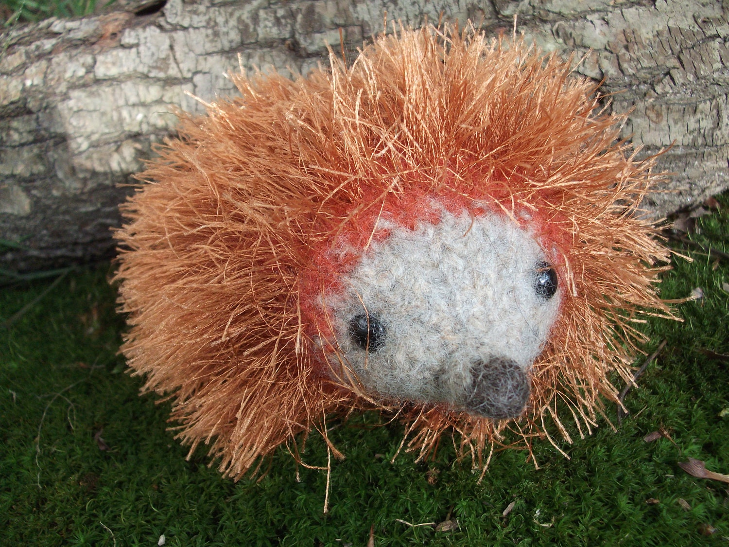 Stuffed Hedgehog Knitting Pattern : Hedgehog plush toy hedgehog toy hand knit felted hedgehog