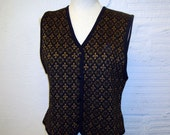 Sweater Vest Vintage 1980s Sweater Vest